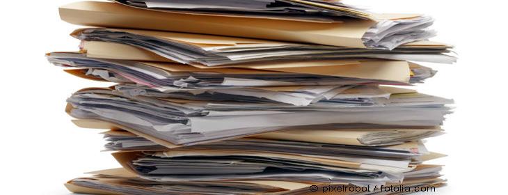Ihre Unterlagen sind die Basis einer erfolgreichen Arbeit.